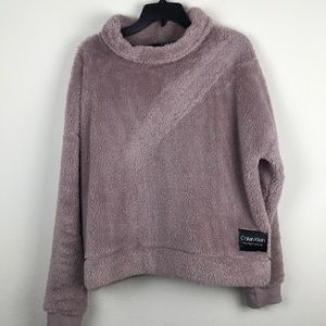 CK performance- Sherpa pullover